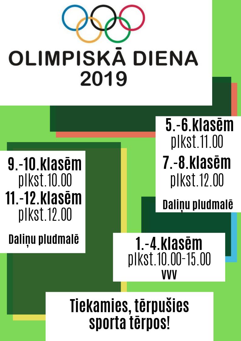 Olimpiskā diena 2019